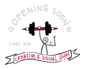 Blijf op de hoogte van de opening van de GYM voor creatief en visueel denken via de nieuwsbrief