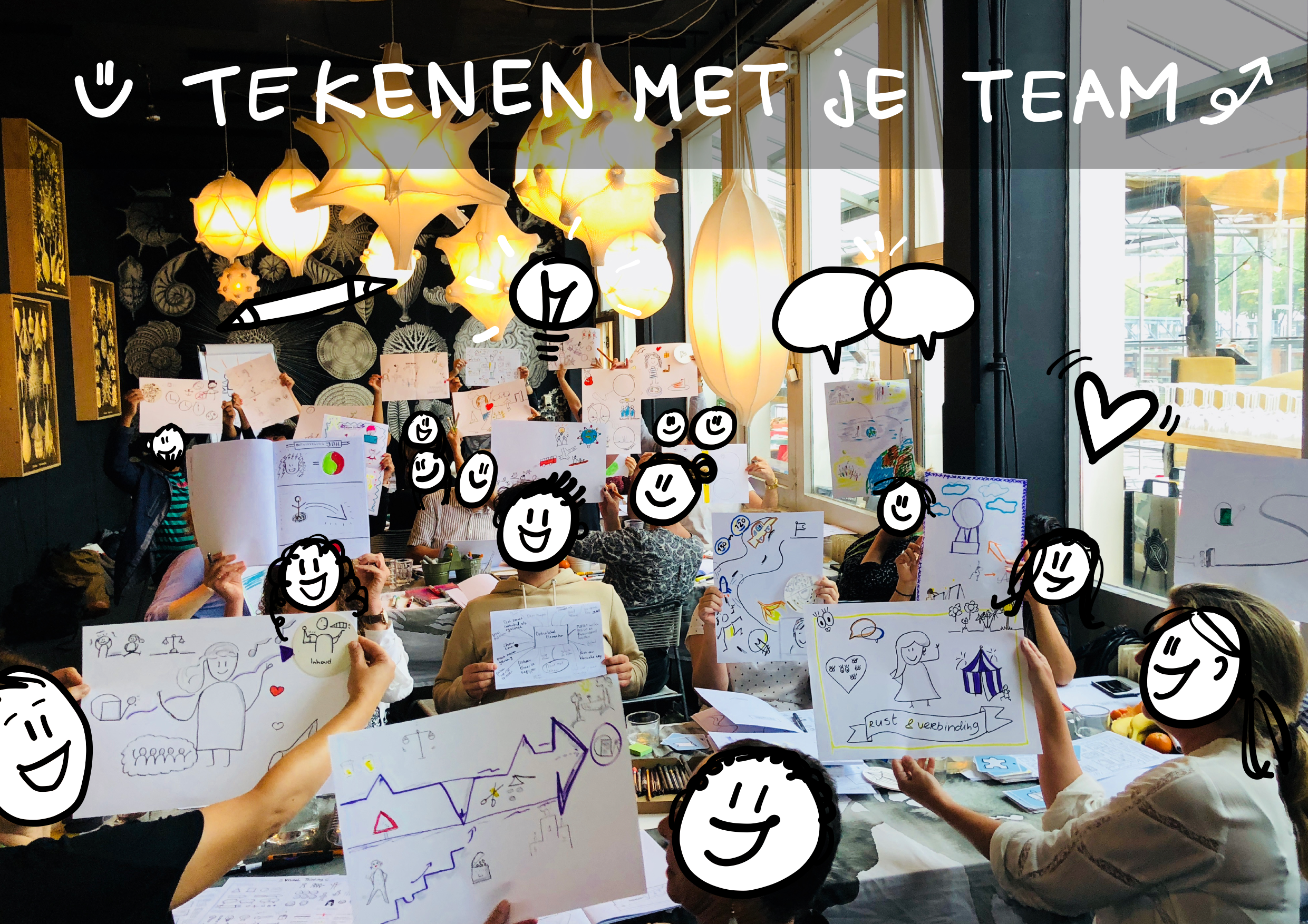 Tekenen met je team